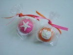 individually wrapped cake ball truffle favors!